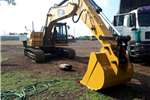 Excavators Caterpillar 2008