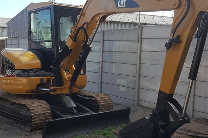 Excavators Caterpillar 305CR EXCAVATOR 2006