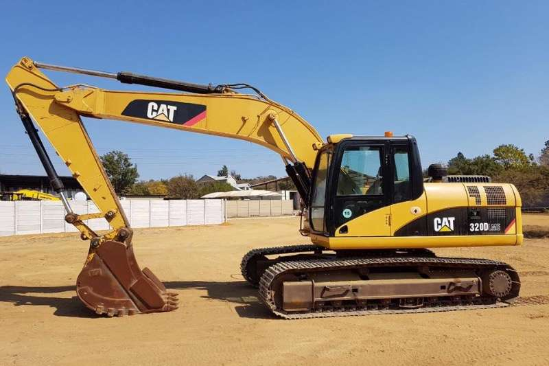 Excavators Caterpillar 320D Excavator 2010