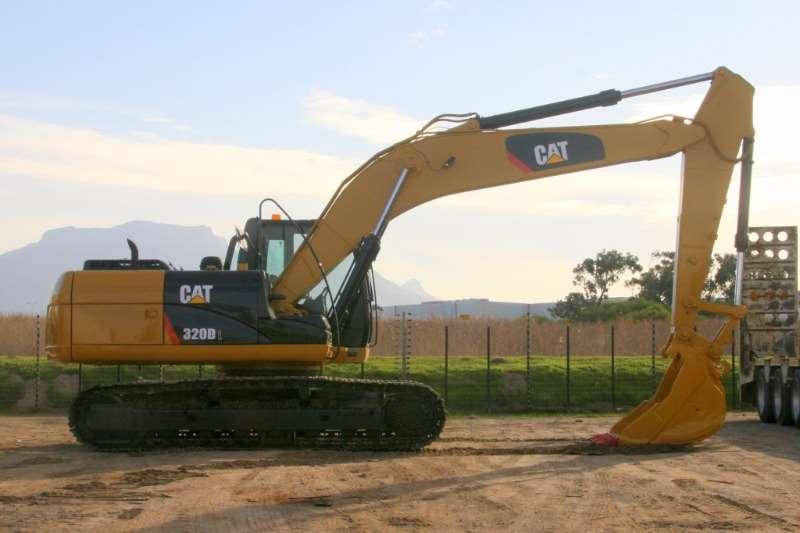 Excavators Caterpillar 320D; Re-Furbished 2007