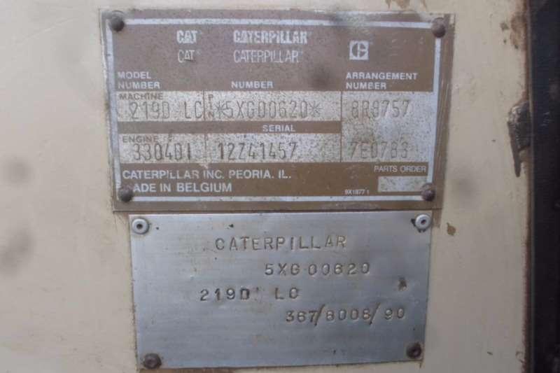 Caterpillar Caterpillar 219D LC 5XG00620 Excavators