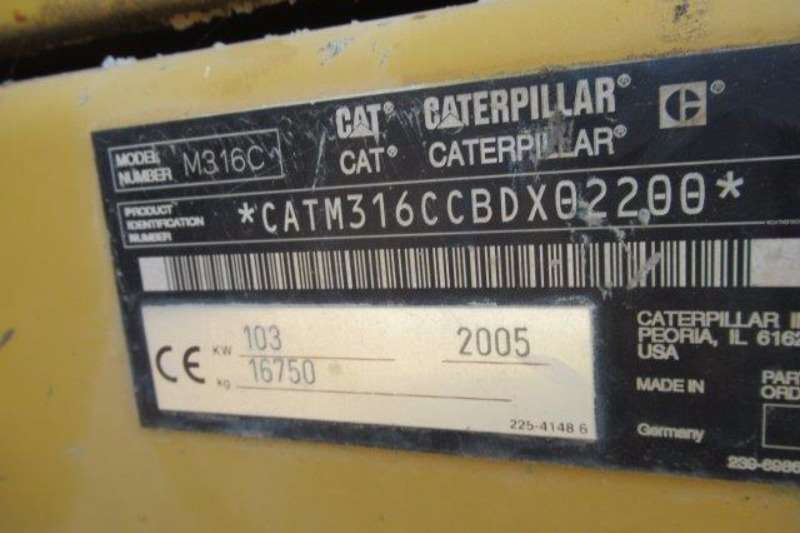 Caterpillar Caterpillar M316C Wheeled Excavator Excavators