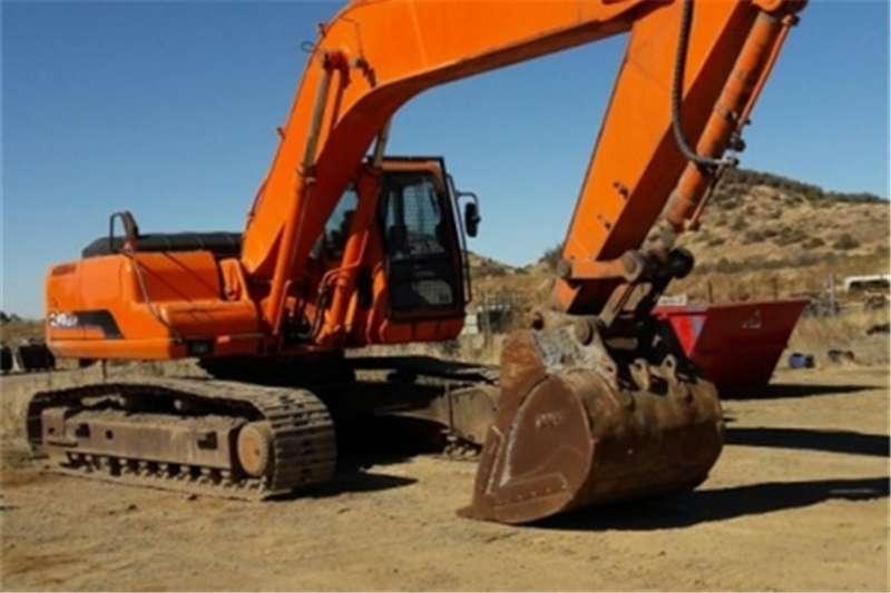 Daewoo Excavators