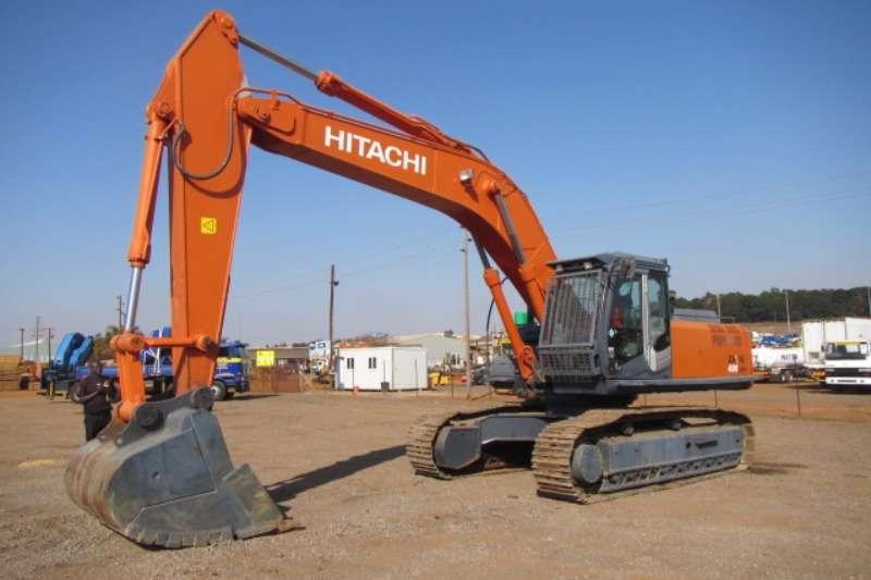 Excavators Hitachi Hitachi ZX400LCH-3 Excavator 12716H 2011 #HCM1JL00 2011