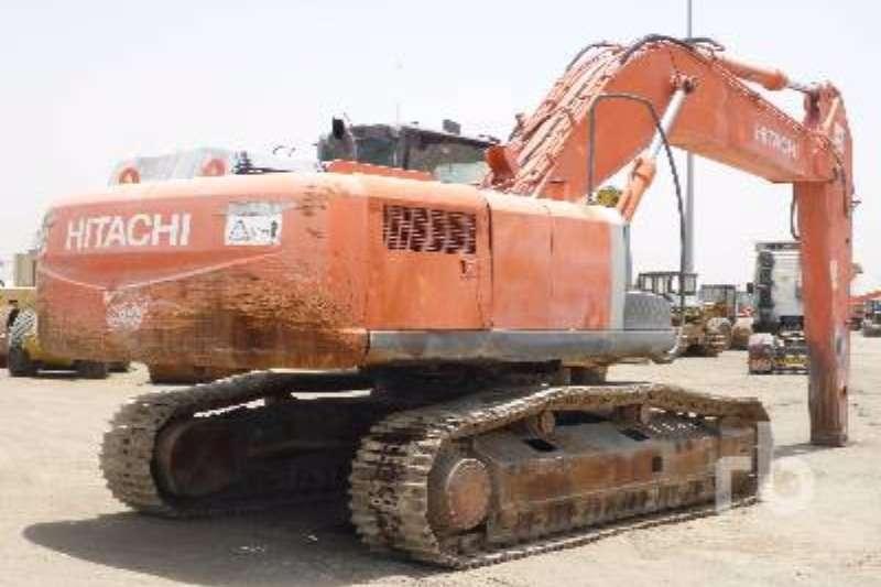 Excavators Hitachi ZX350H-3 2008