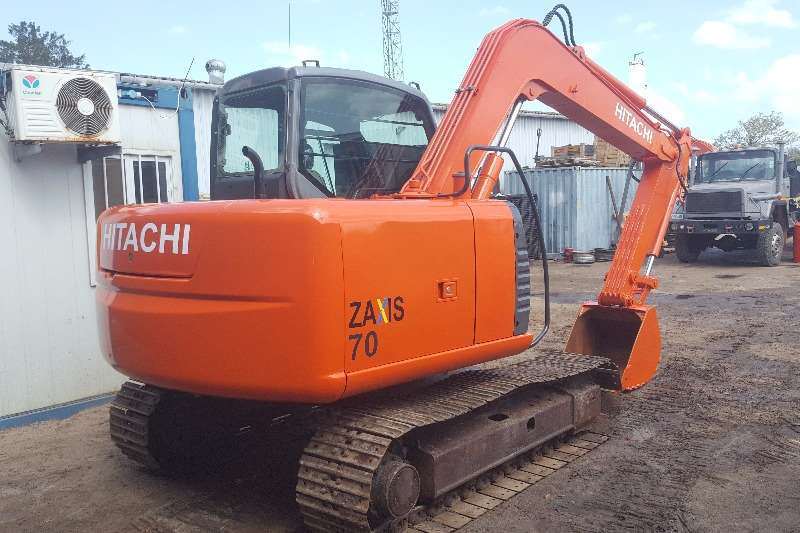 Excavators Hitachi ZX70LC-3 2010