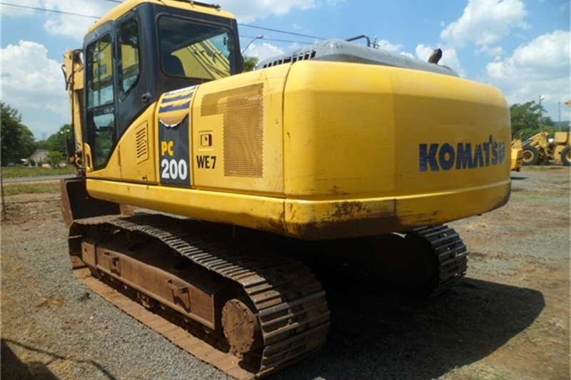 Komatsu Excavators