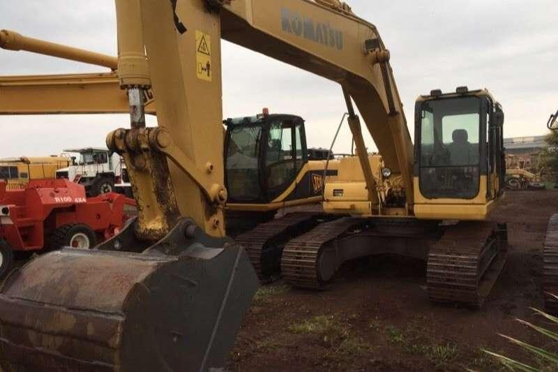 Komatsu Komatsu PC200/7 LC Excavators