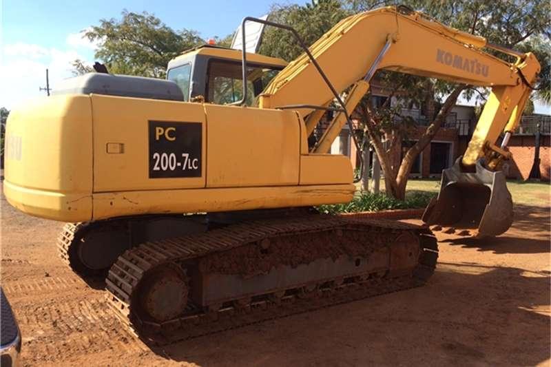 Komatsu PC200-7LC EXCAVATOR Excavators