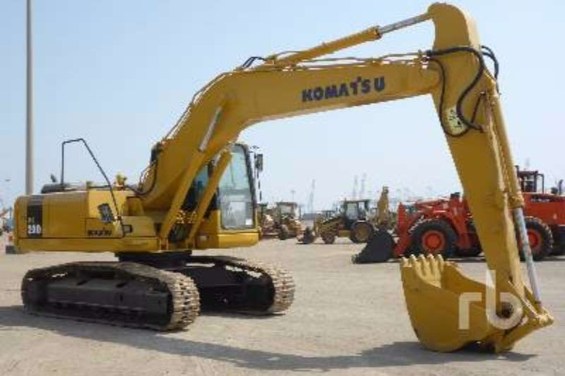 Komatsu PC200LC- 7 Excavators