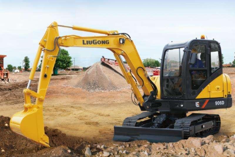 Liugong CLG906D Excavator Excavators