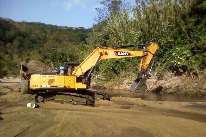 Sany SY 215 Excavators