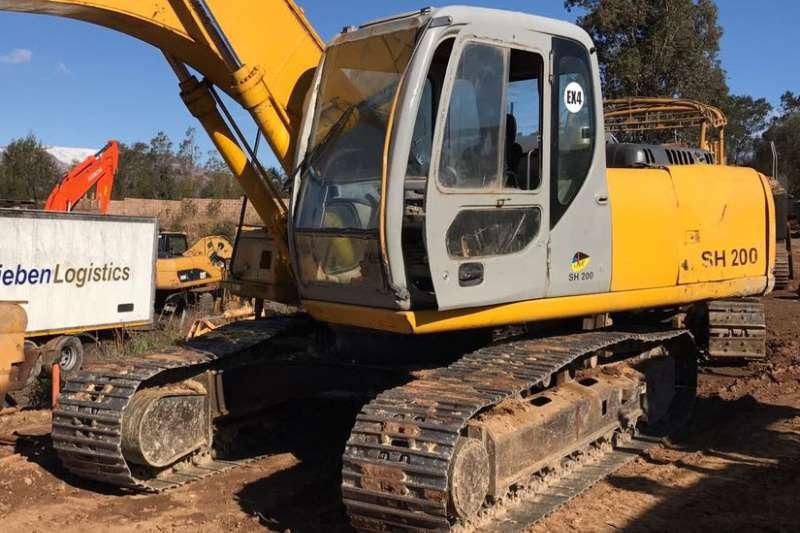 Sumitomo SH200 3 (Refurb) Excavators