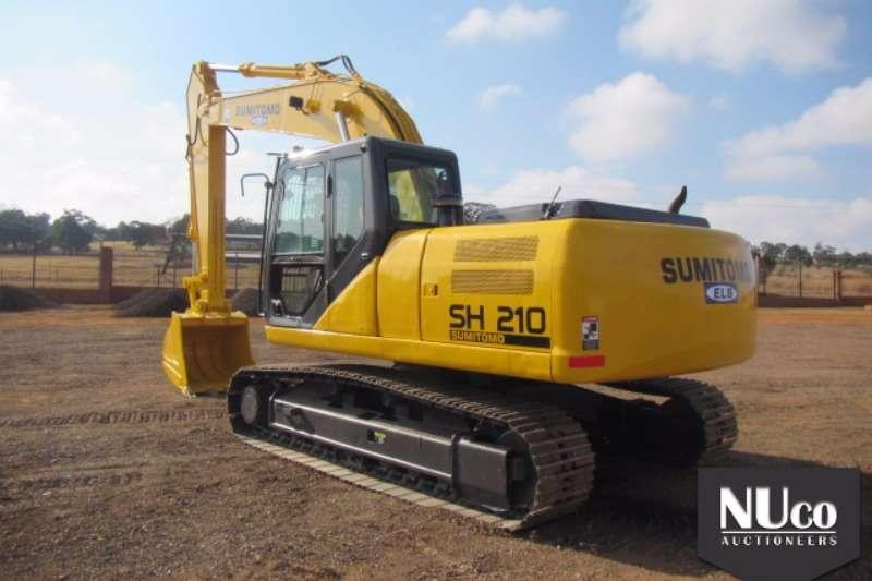 Sumitomo Sumitomo SH210-5 Excavator 8509H 5MT210A5K00BH1635 Excavators