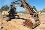 Excavators Volvo 2011