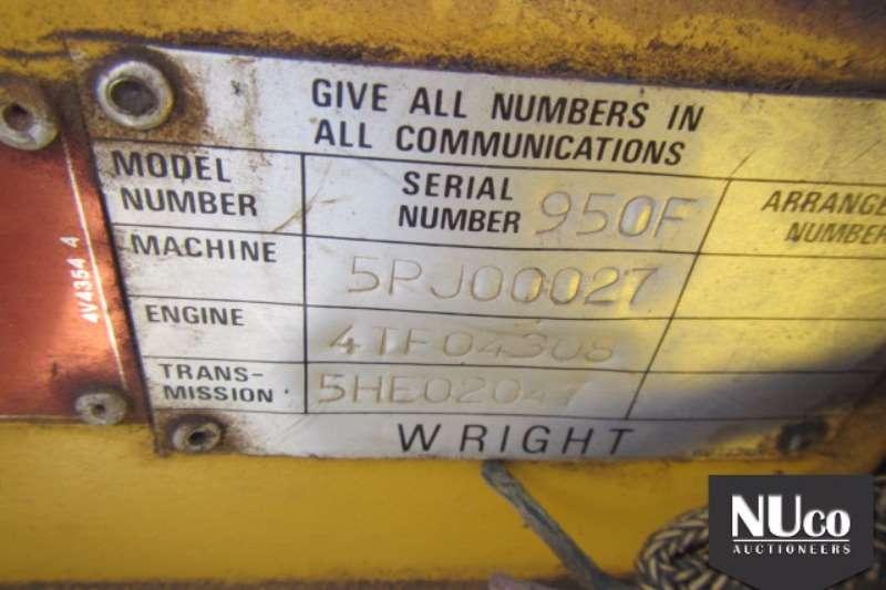 WRIGHT 950F FRONT END LOADER FELs