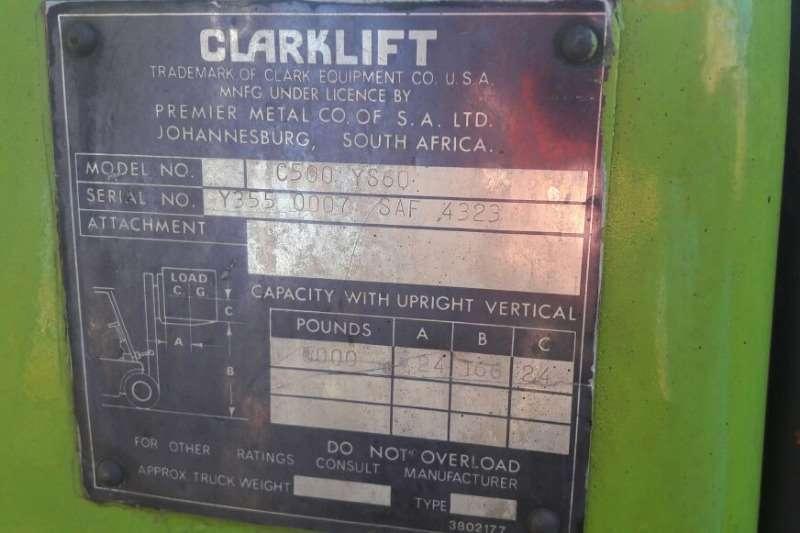 Clark Used Clarklift Forklift Drum Handler Available Forklifts