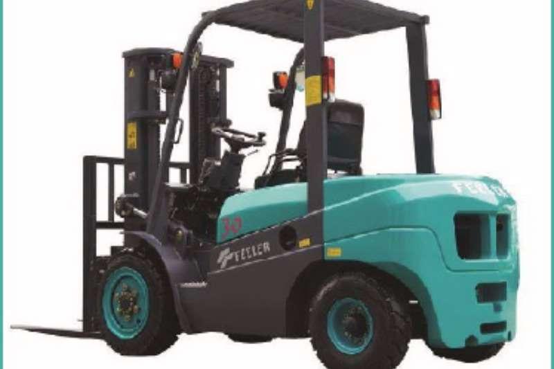 Forklifts Feeler Diesel Forklift FD30 Isuzu 2017