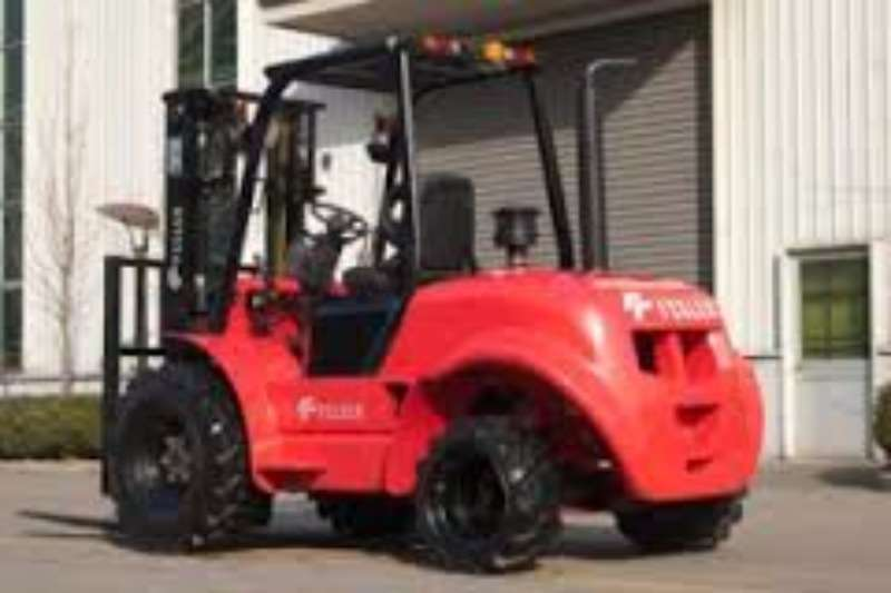 Forklifts Rhino heli 2.5 and 3 Ton Rough terrain 4 x 2 Forklifts
