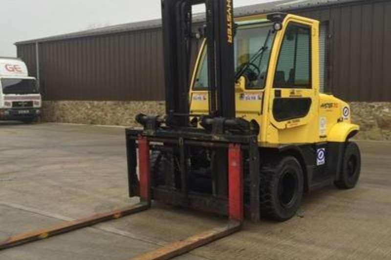 Hyster Diesel forklift 7 Ton Diesel, 4 m Lift Forklifts