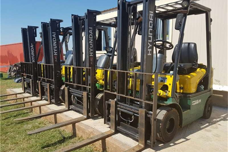 Forklifts Hyundai 1.8 Ton 2012