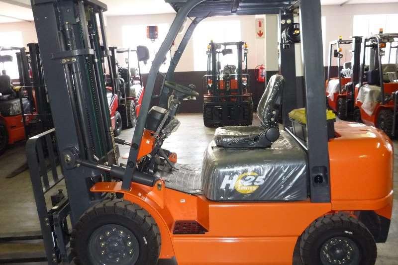 JAC Diesel forklift NEW CPCD25 H SERIES Forklifts