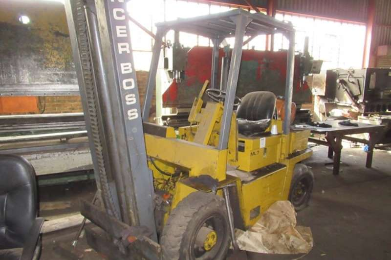 Lancer Boss Enerpat Group MSB-55 Shredder Forklifts