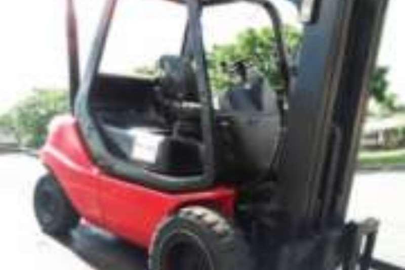 Linde Diesel forklift 3.5 Ton Diesel 4.3m Lift Forklifts