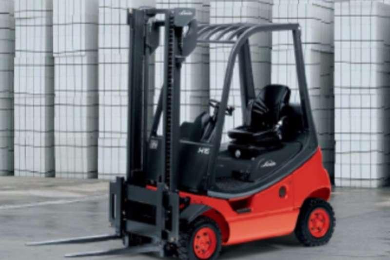 Linde Diesel forklift Linde 1.8 ton Forklifts