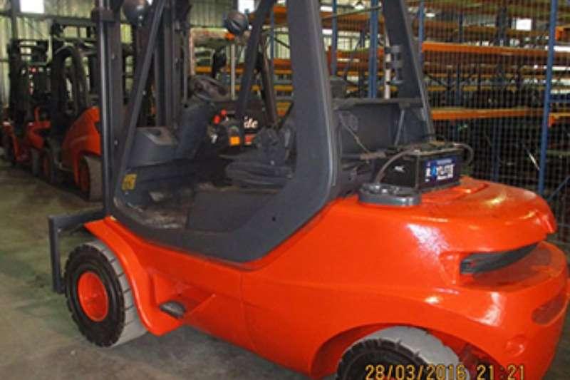Linde Diesel forklift Linde 3.0 tonH35D Forklifts