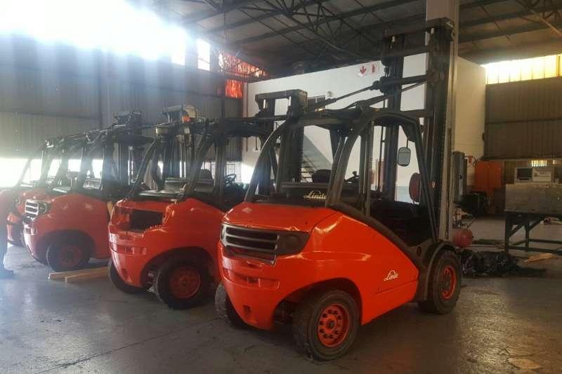 Linde Diesel forklift REFURBISHED LINDE FORKLIFTS FOR SALE Forklifts