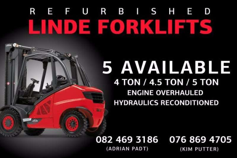 Forklifts Linde Diesel Forklift REFURBISHED LINDE FORKLIFTS FOR SALE 0