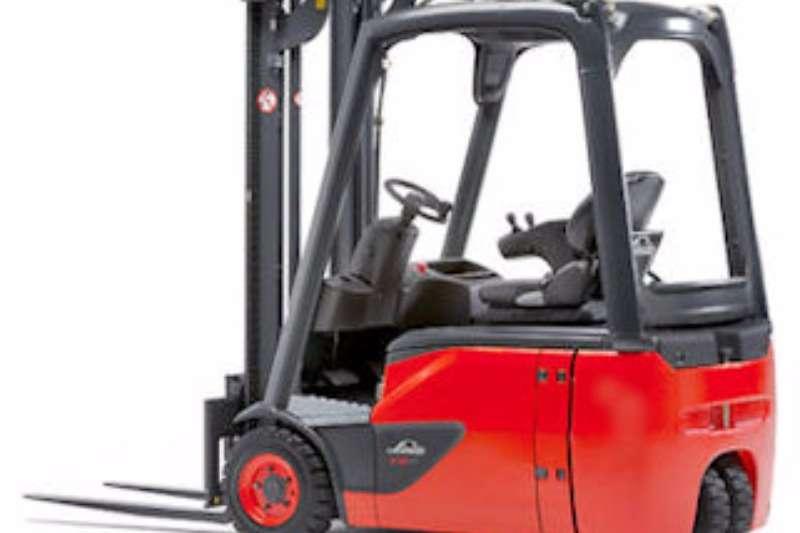 Linde Electric forklift Linde 1.4 tonE14 Forklifts