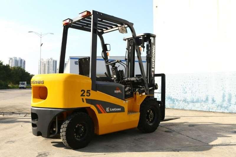 Liugong Diesel CPCD25 A-SERIES 2,5 Tonner Forklifts