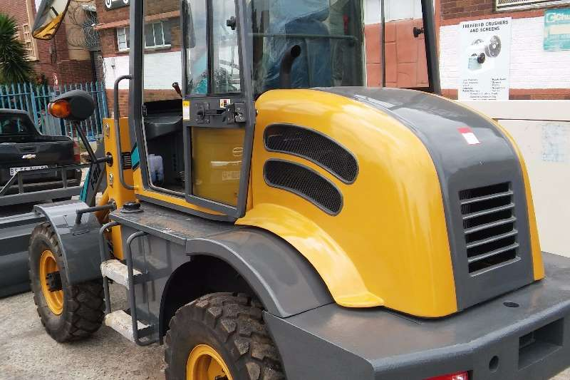 New Loaders & Excavators from R135 000 Forklifts