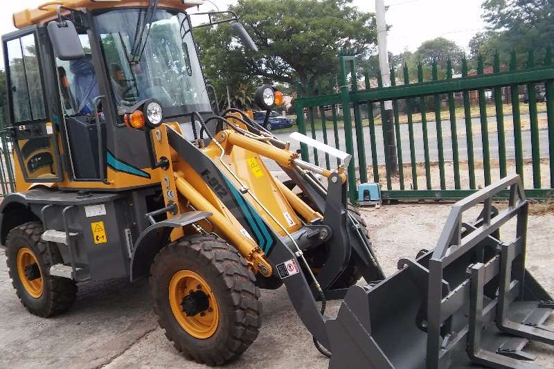 New Loaders & Excavators from R285 000 Forklifts