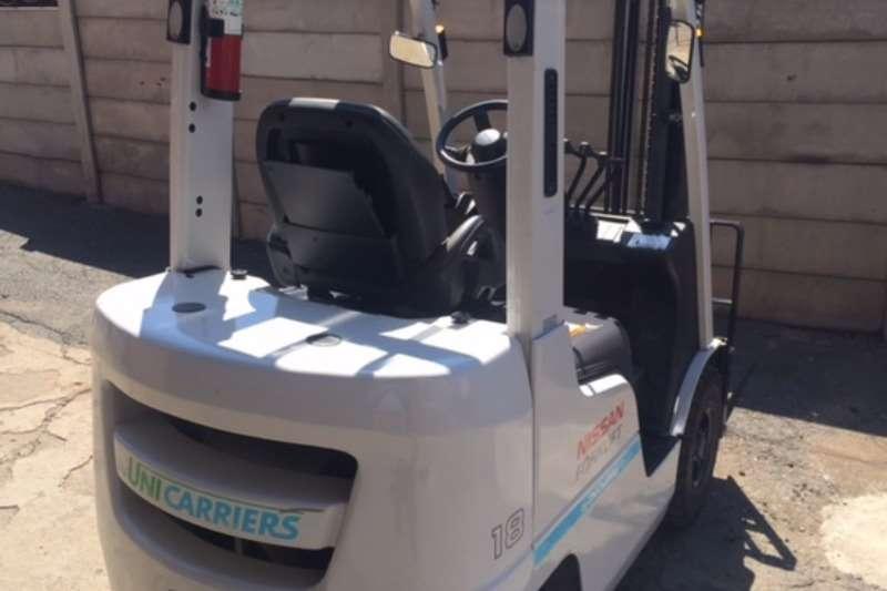 Forklifts Nissan Diesel Forklift (DEMO) 43 hours 1.8 Ton Forklift/Diesel 2015