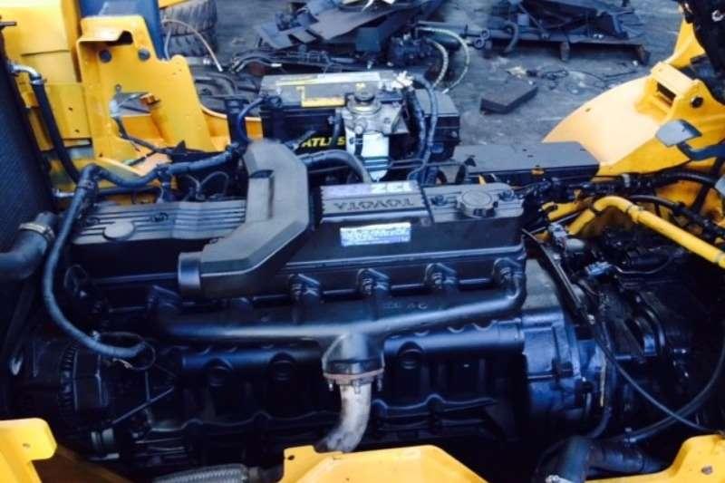 Toyota Diesel forklift 4 Ton Forklift/Diesel Toyota 7FD40 Forklifts