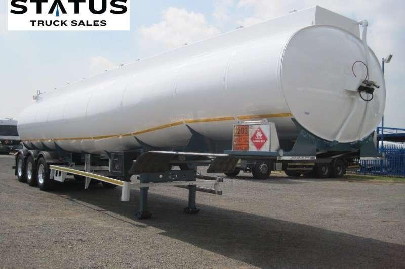 GRW 50000L Tri - Axle Fuel tankers