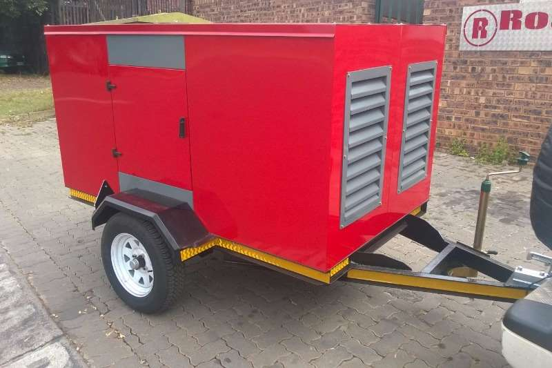 Other 40 kva FAW Prime Generator on Trailer Generator
