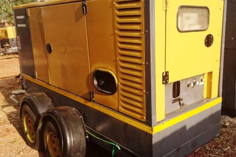 Other Atlas Copco 80Kva Mobile Generator