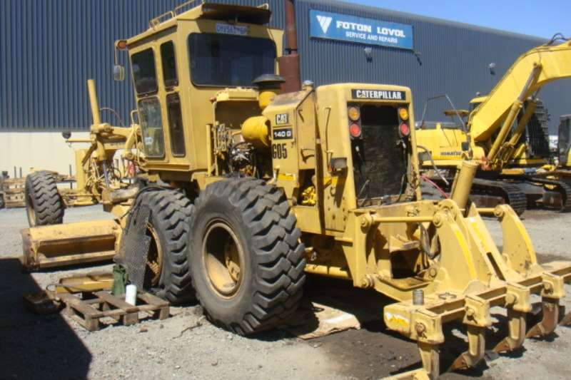 Graders Caterpillar 140G 1986