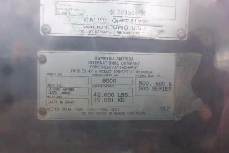 Komatsu Komatsu GD650A 2BY 203564 Graders