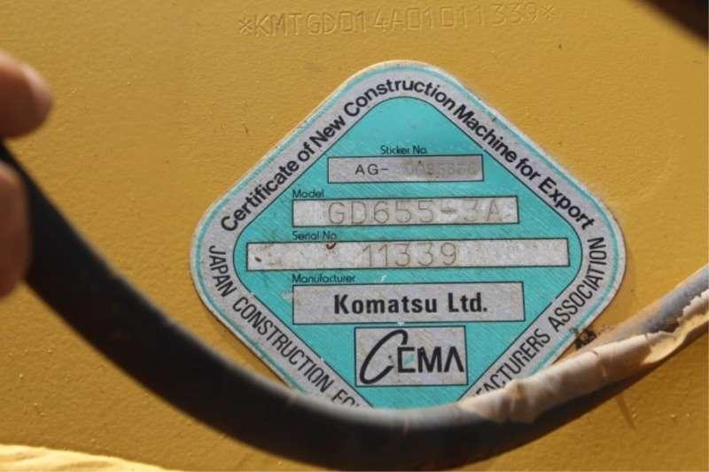 Komatsu Komatsu GD655 Grader Graders
