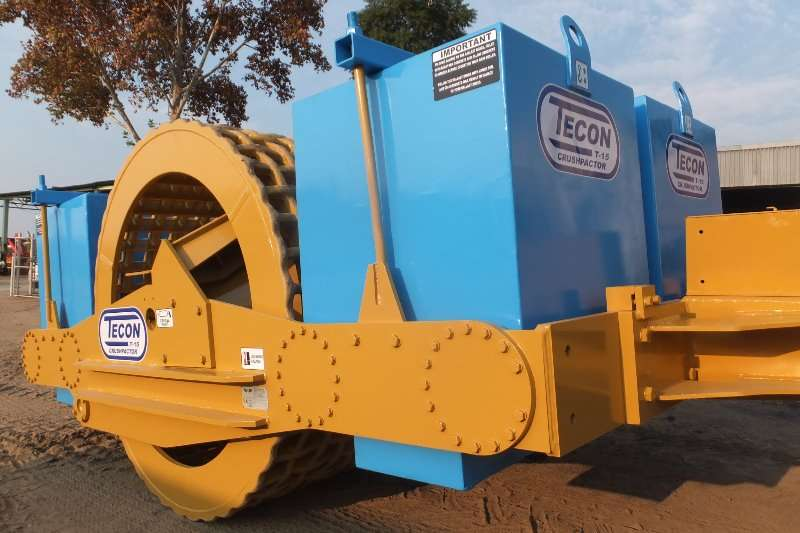 TECON T   15 TON CRUSHPACTOR Grid rollers