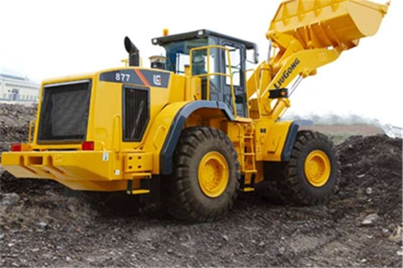 Liugong CLG877 Wheel Loader Loaders