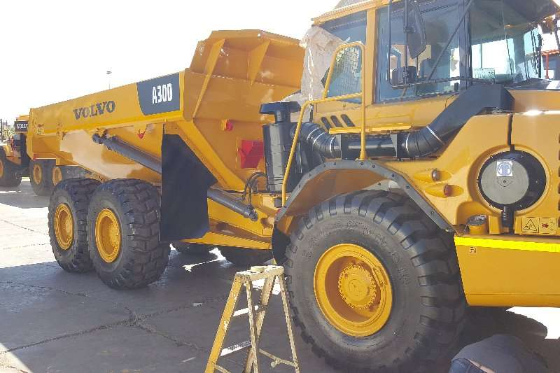 Loaders Volvo Volvo A30D 2007
