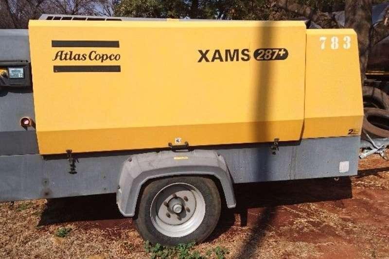 Atlas Copco XAMS287 600CFM Others