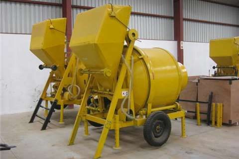 Other 800Kg Diesel Concrete Mixer with Cable skip Others