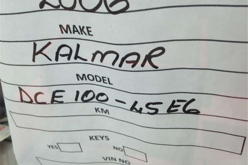 Konecranes KALMAR- DCF100-45E6  Pallet jack